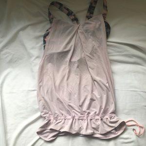 Baby Pink Lemon top with built in bra.